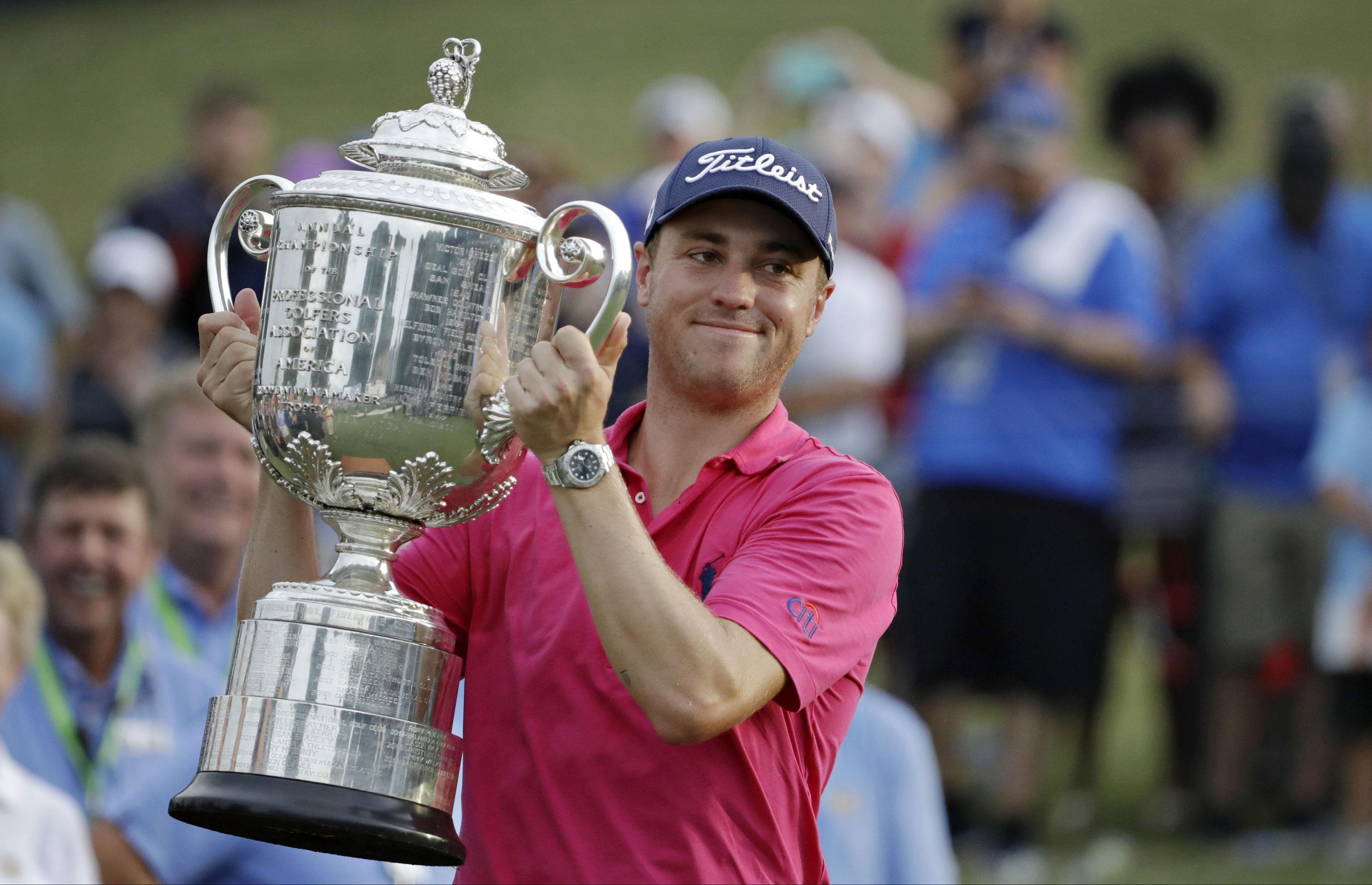 Former US PGA Open Justin Thomas.