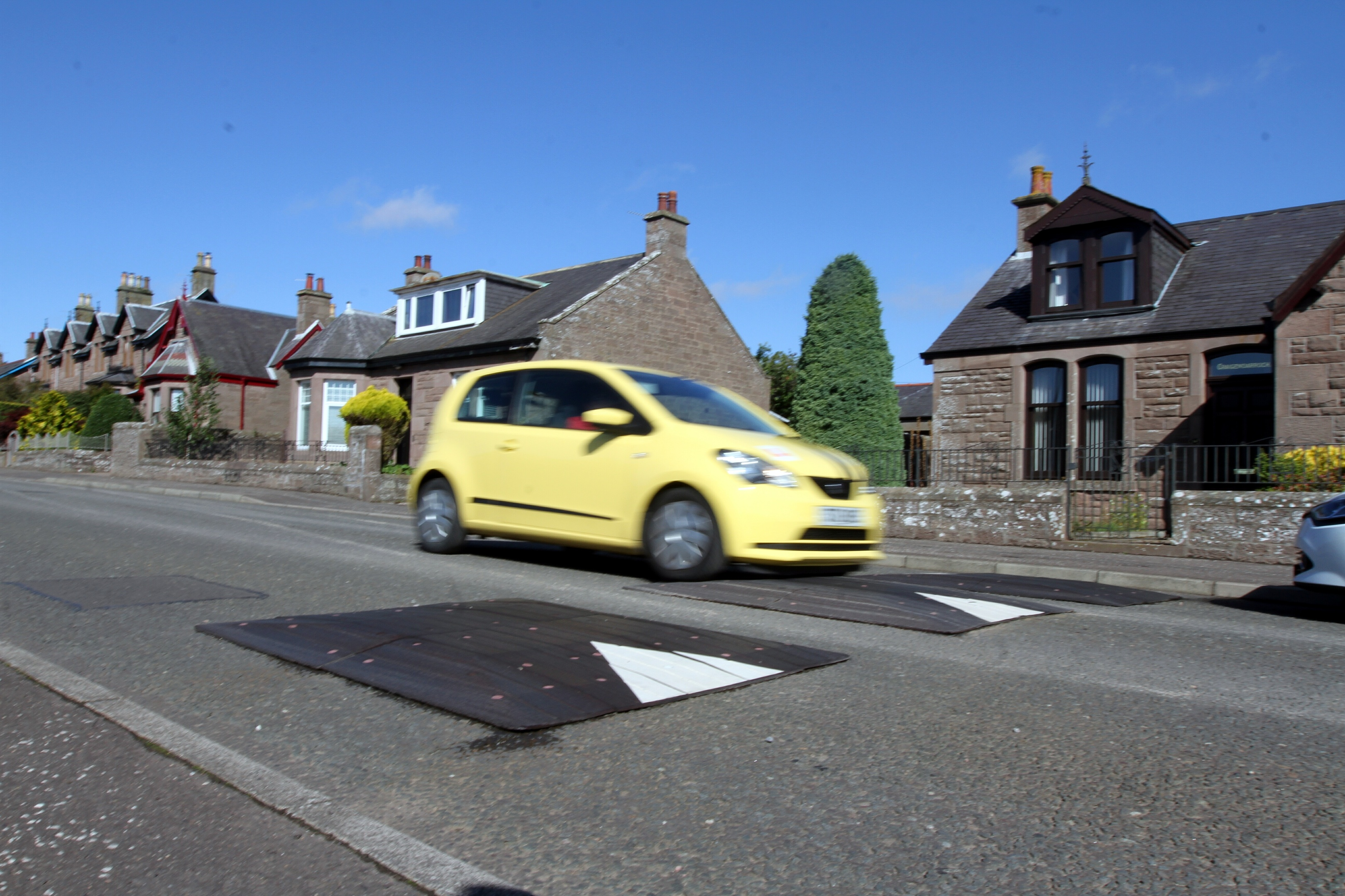 Speed humps will stay in Taylor Street