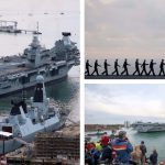 PICTURES: Watch huge Rosyth-built HMS Queen Elizabeth arrive at new home port
