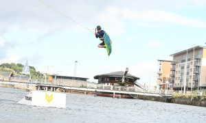 VIDEO: Testing begins at Dundee's soon-to-open wakeboarding centre