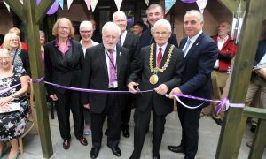 Alzheimer Scotland celebrates new sensory garden in Dundee