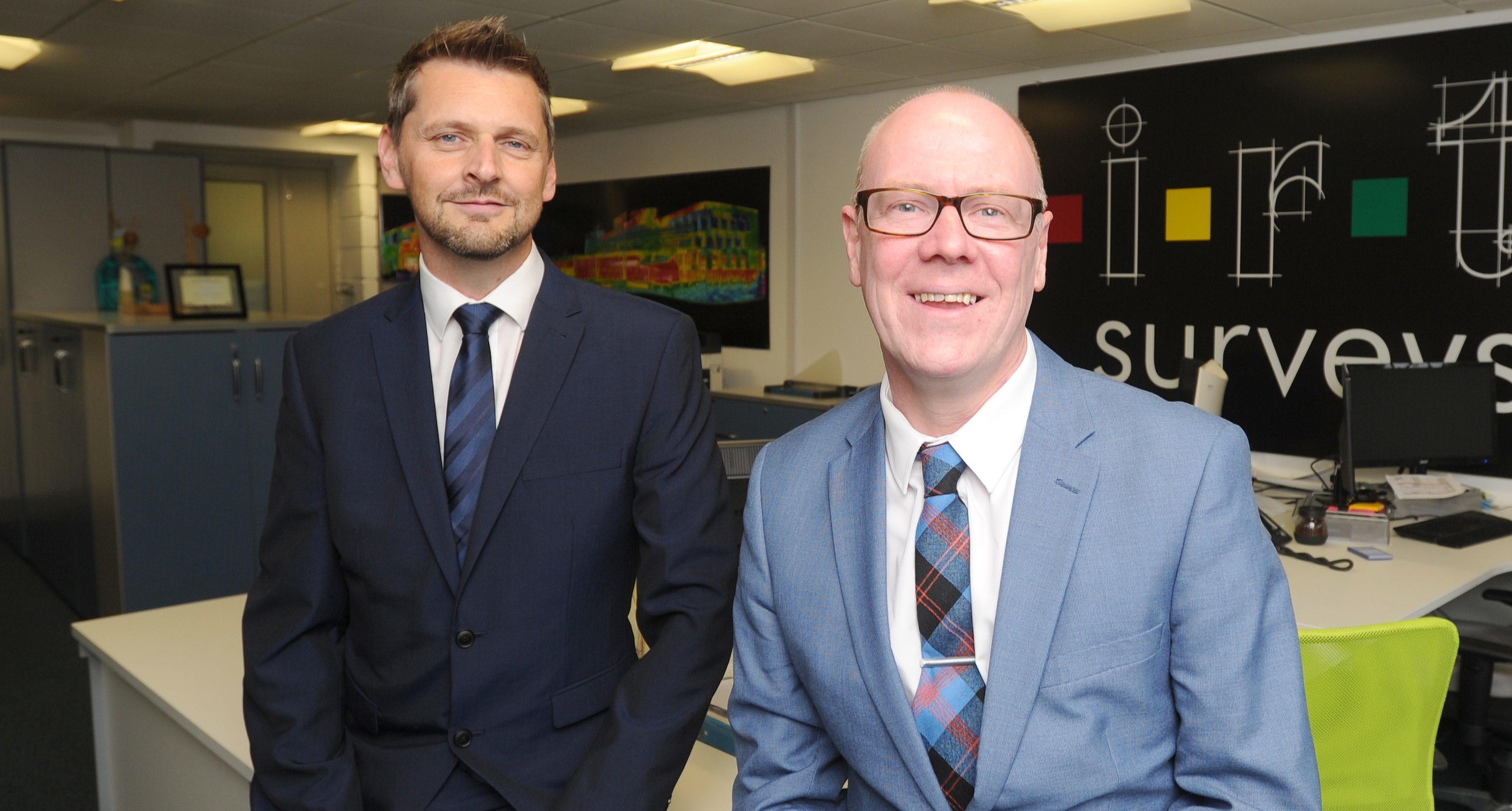 Stewart Little and Kevin Stewart MSP.