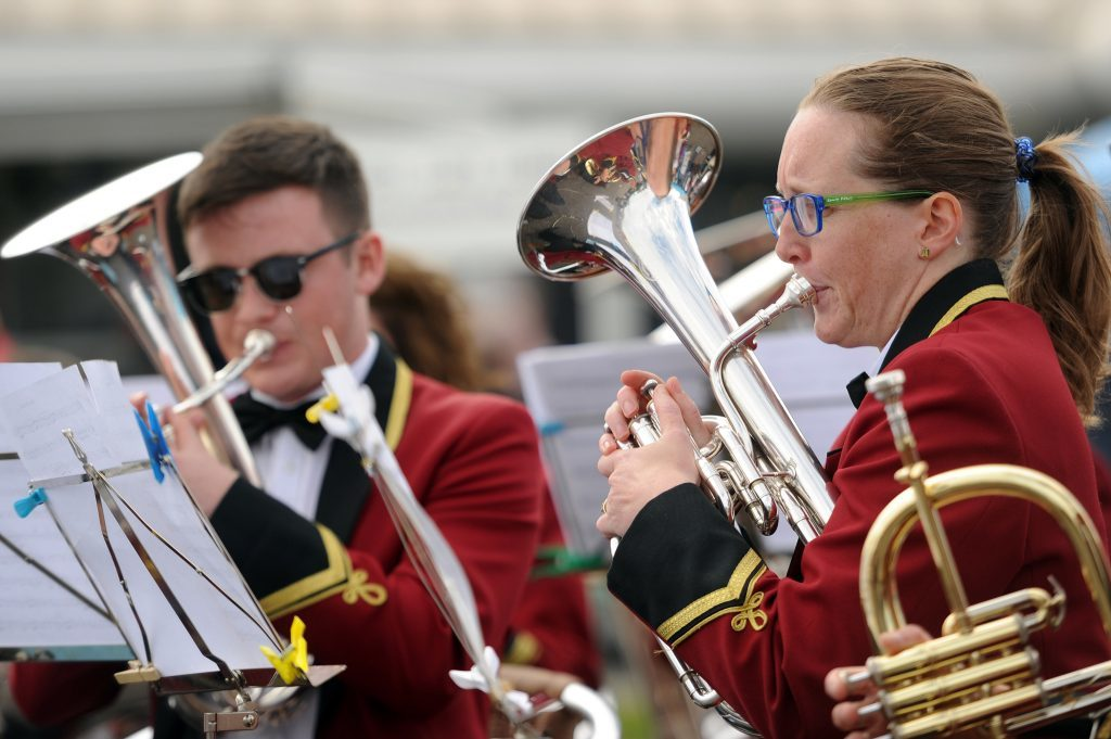 The Arbroath Instrumental Band provided musical entertainment.