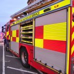 Two hurt in separate accidents on Fife's roads