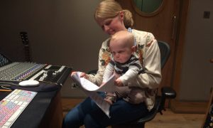 St Andrews-raised music engineer Olga launches national campaign for shared parental pay