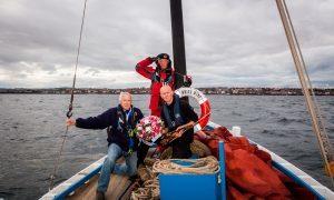 VIDEO: Poignant wreath laying ceremony to mark Cellardyke wartime tragedy