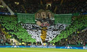 """""""Celtic Football Club STAND UP"""": Conor McGregor applauds Celtic fans following Champions league display"""