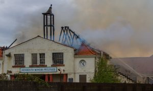 VIDEO: Methil club blaze treated as wilful fireraising