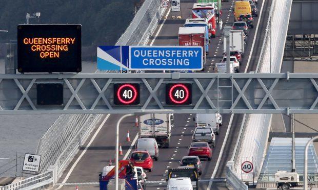 Traffic chaos as tailbacks hit new bridge
