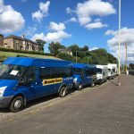 "Vehicle company ""not breaking rules"" in van parking row"
