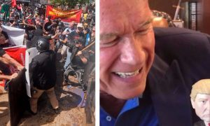 """VIDEO: """"Your heroes are losers"""" – Arnold Schwarzenegger's message to neo-Nazis as he hits back at Donald Trump"""