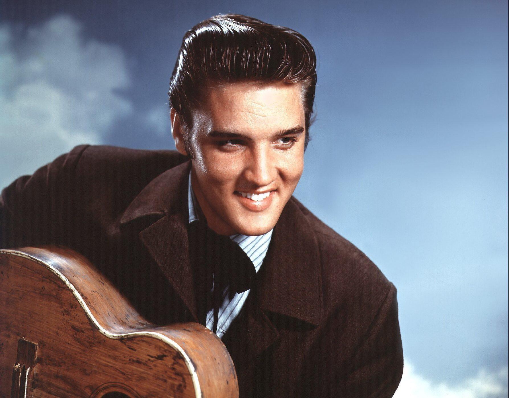 Elvis Presley on May 1 1957