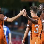 Dundee United 2 Cowdenbeath 0: Double for Patrick N'Koyi gets cup defence off to winning start