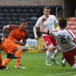 Dundee United 1 Brechin 0: Scott McDonald goal keeps perfect record intact