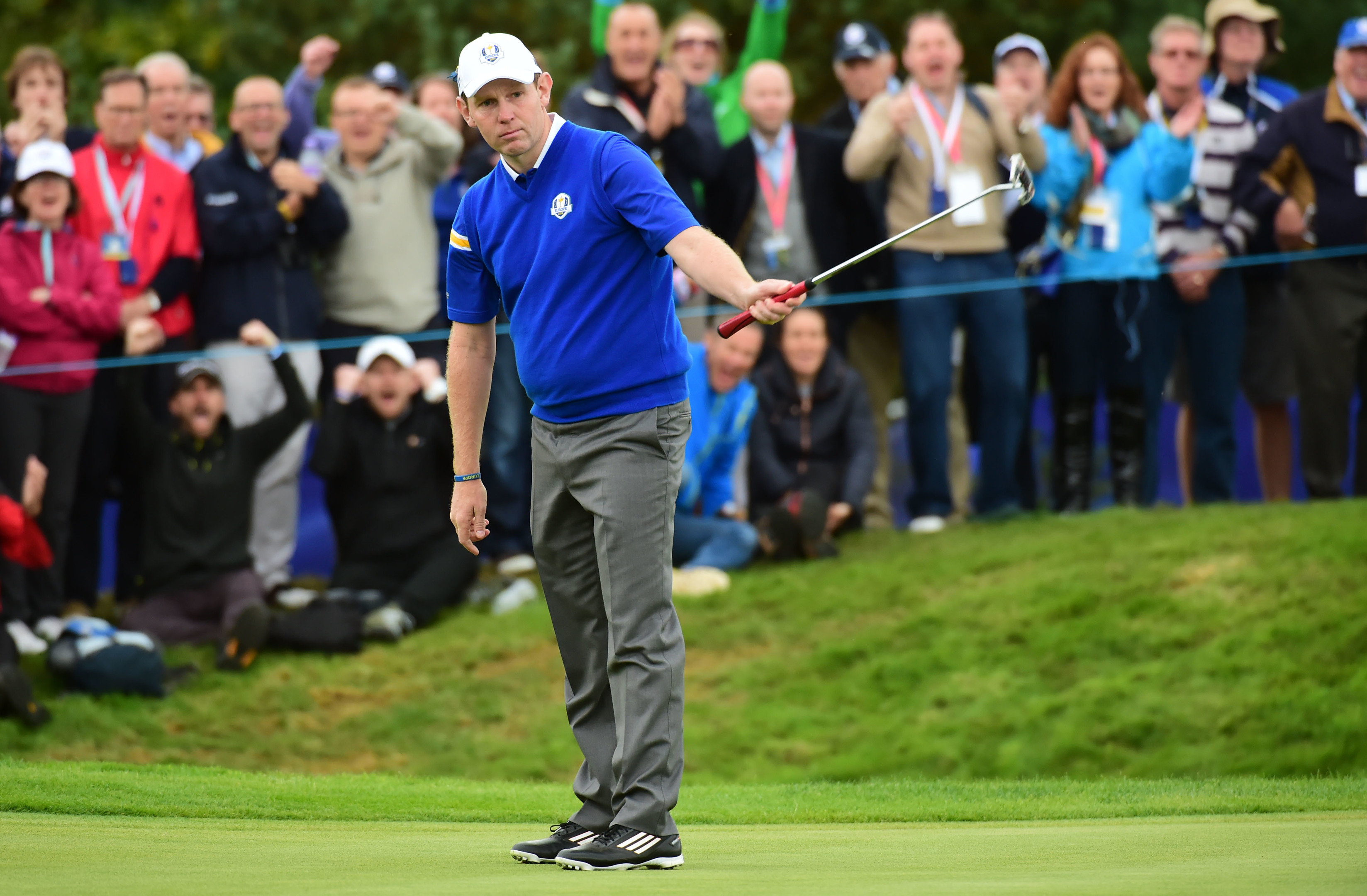 Stephen Gallacher has recovered from a bout of sinusitis to play at the British Masters.