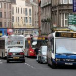 Man rushed to hospital following incident on busy Dundee road
