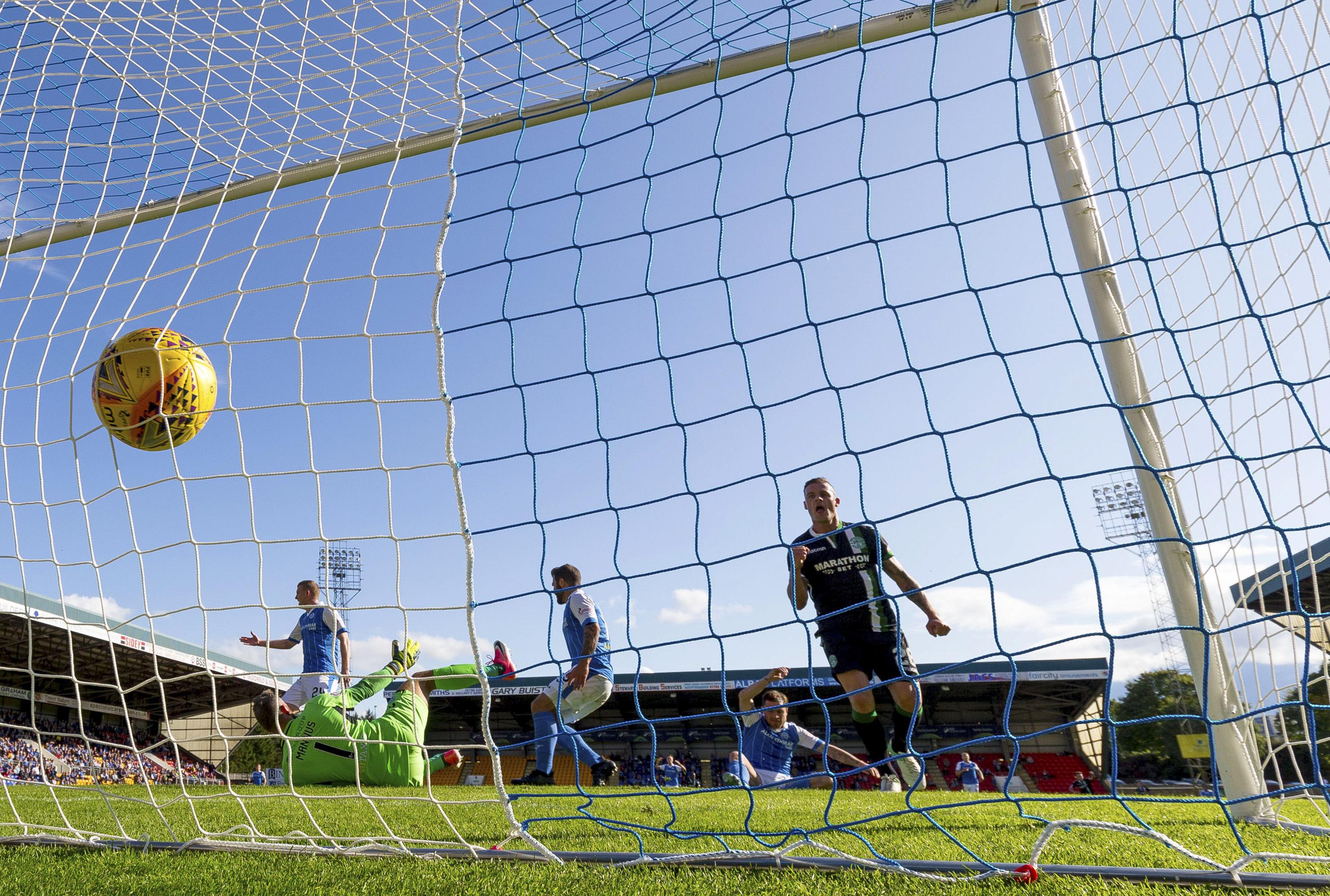 Paul Paton's own goal.