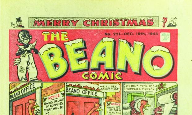 Beano Comic no. 221 December 18, 1943