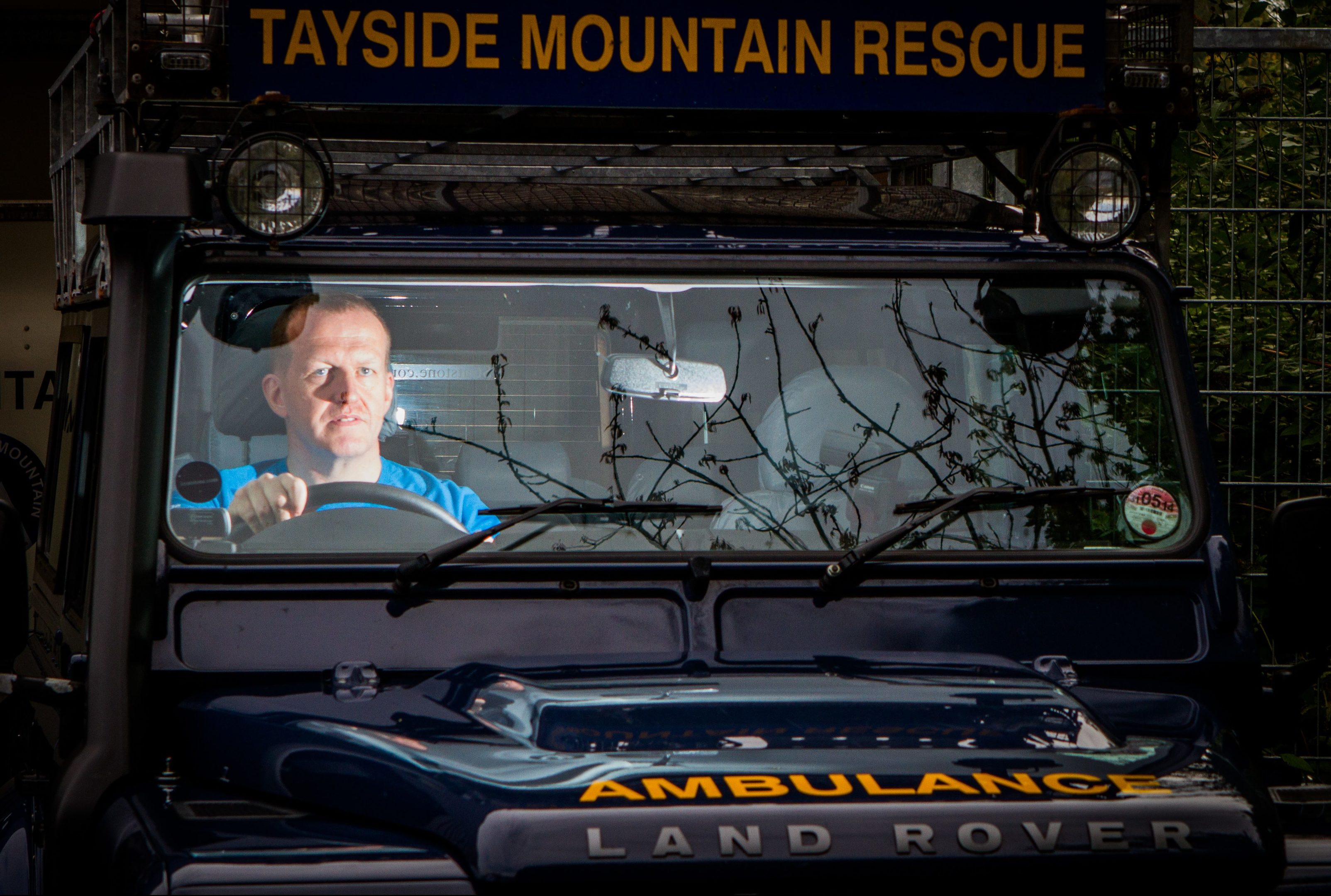 A major beneficiary from the wind farm funds is Tayside Mountain Rescue.