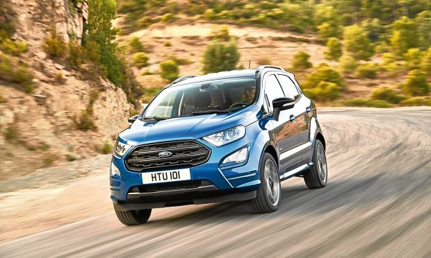 European Ford EcoSport is here with S-Line and new EcoBlue diesel