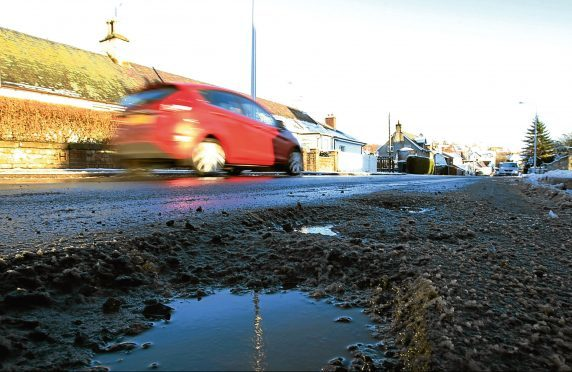 Pothole repairs have decreased by 66% since 2013/14 but concerns remain over the quality of the work