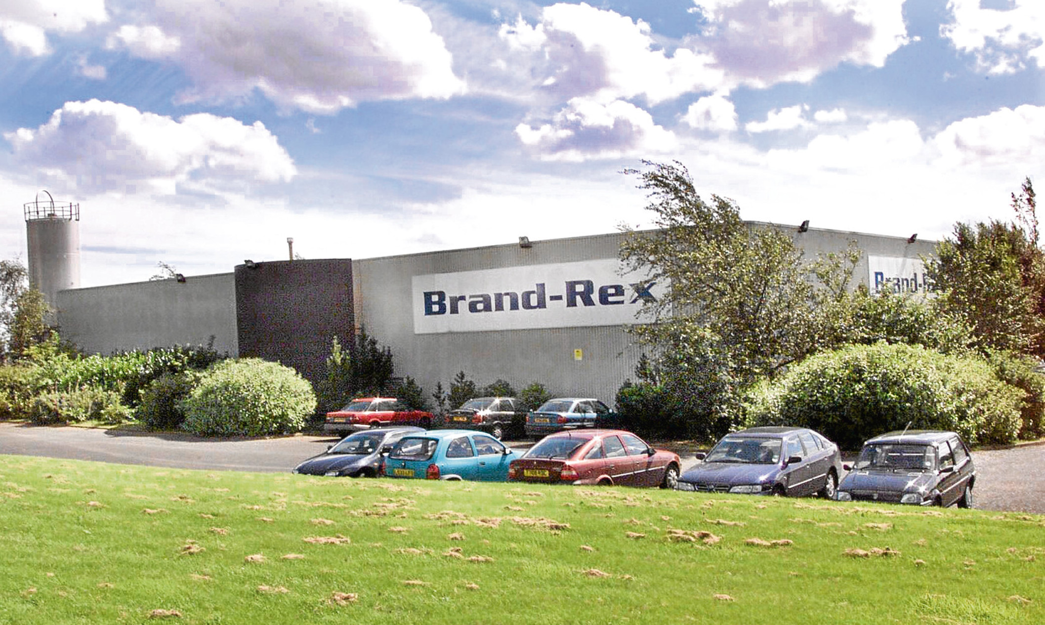 The Brand-Rex site in Glenrothes