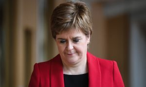 FMQs: Sturgeon enters Labour row by attacking leadership candidate