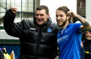 Stevie May agents watches St Johnstone game, with Tommy Wright hopeful of two signings
