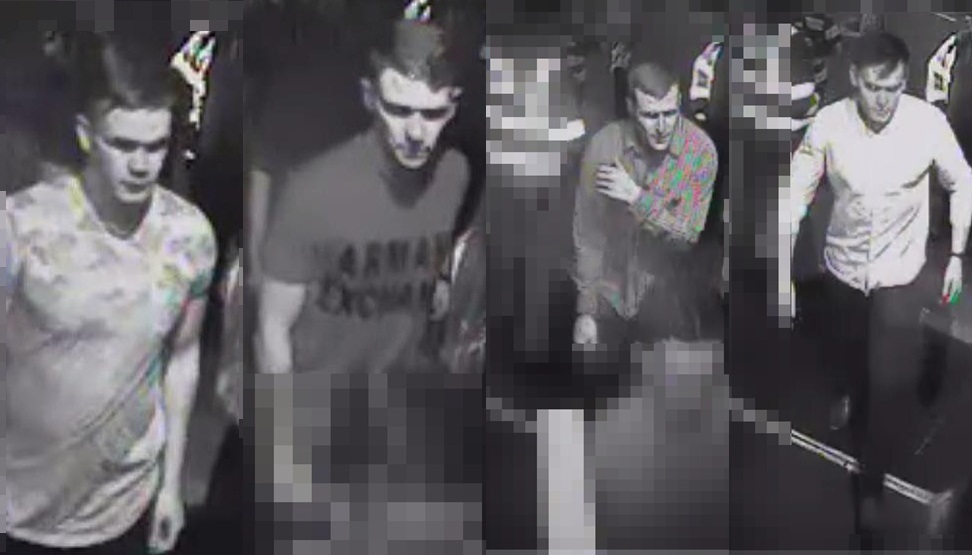 These clubbers are said to have interacted with Corrie before he went missing. None are being treated as suspects.
