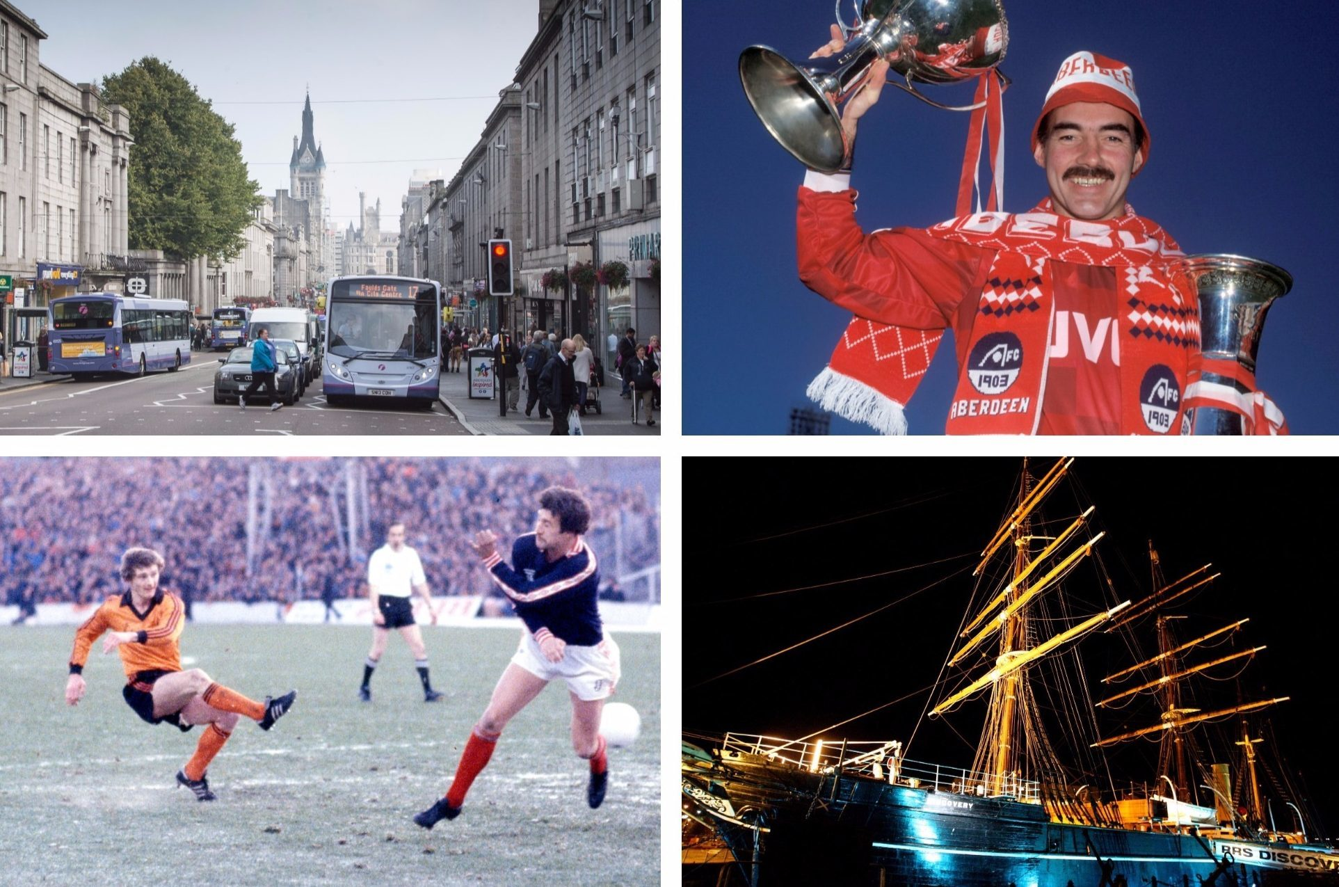 Union Street, Willie Miller, a Dundee Derby in days gone by and the RRS Discovery.