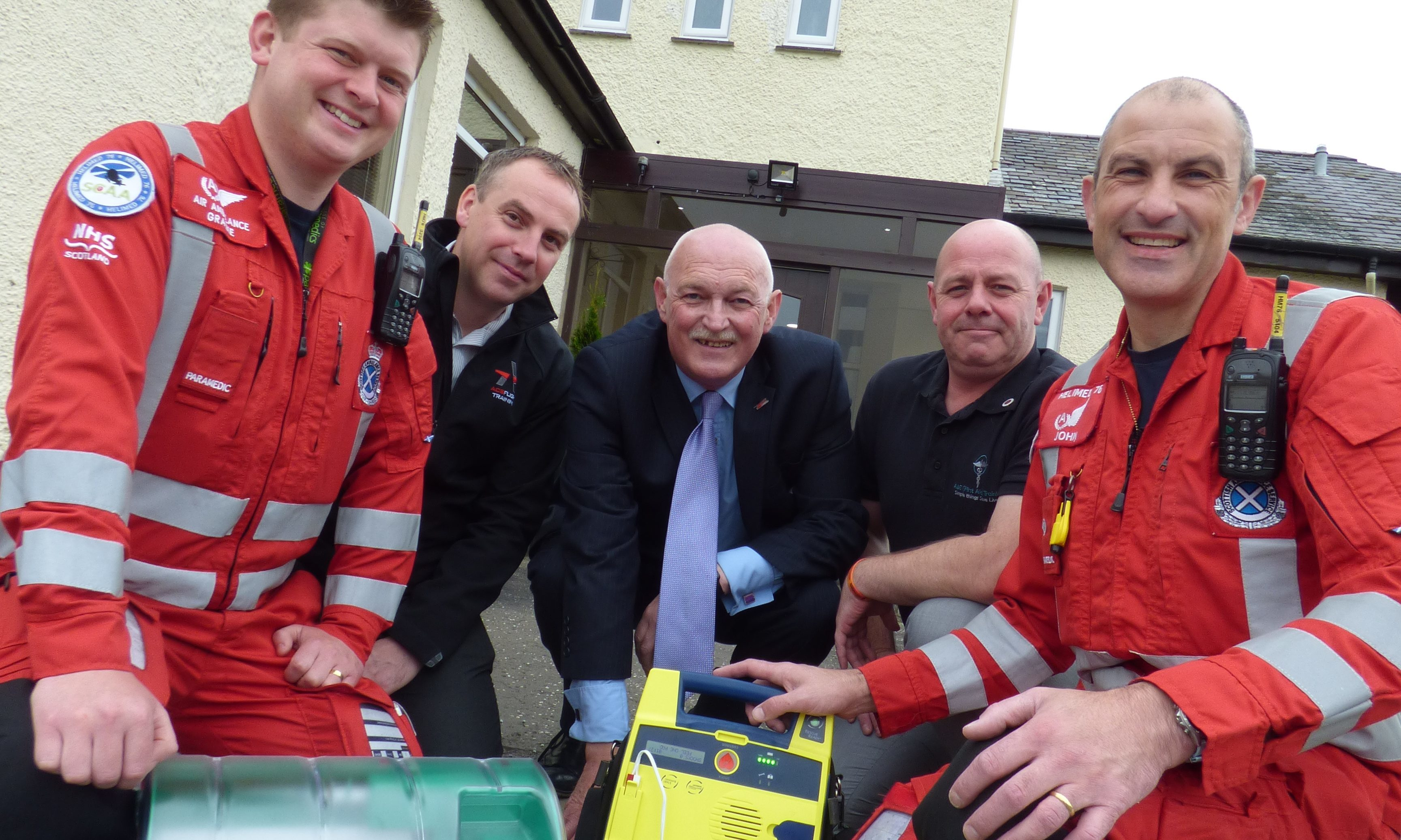 Perth Airport Defibrillator Will Save Lives Say Scaa