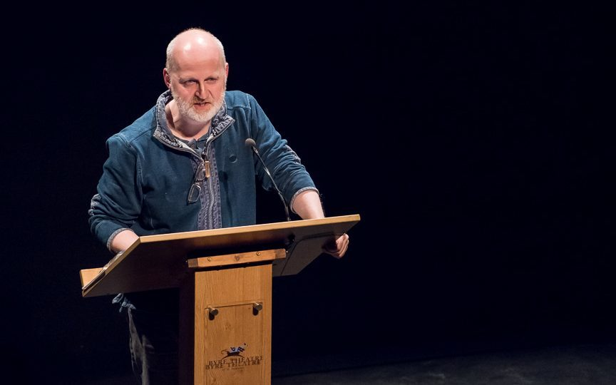 Don Paterson will be among those taking part in the 2018 event.