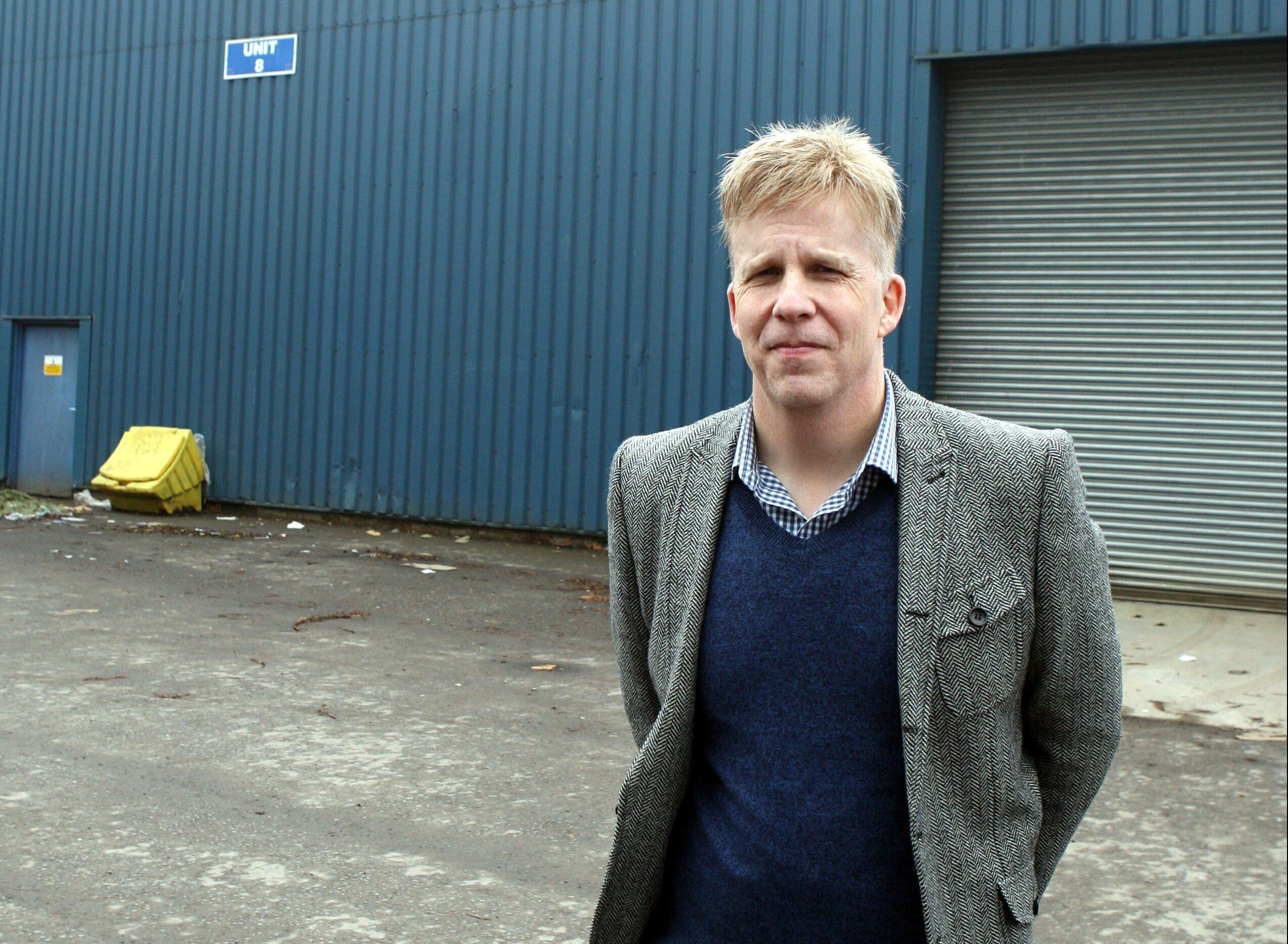 Fergus Storrier, founder of Showcase the Street