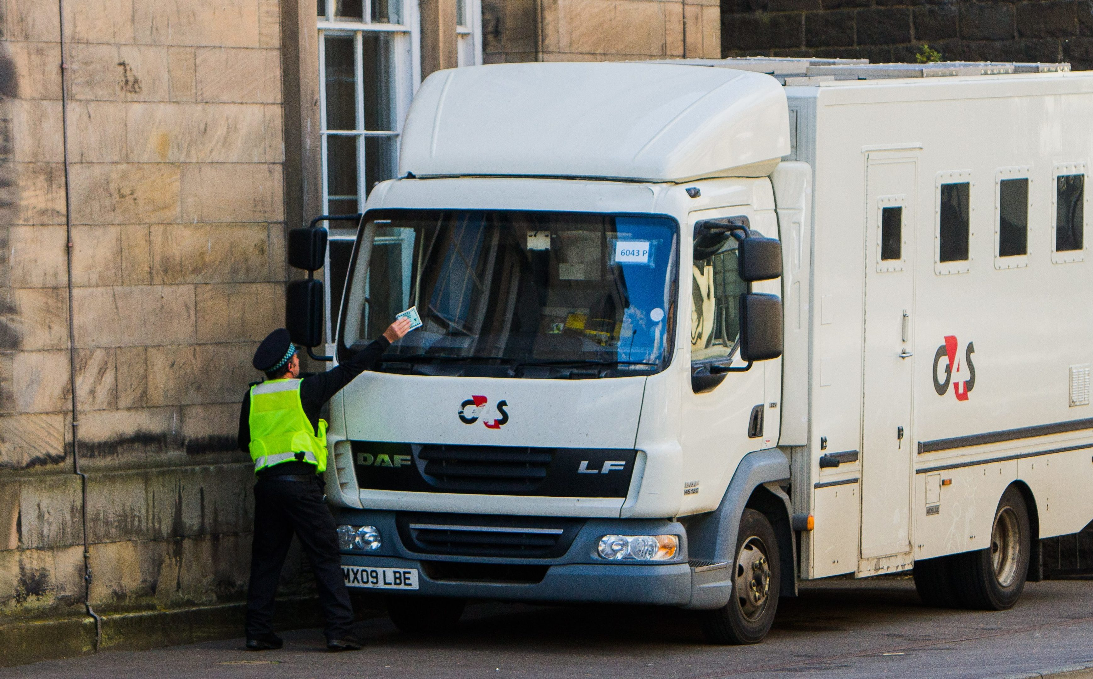 Security firm G4S gets another ticket at Perth Sheriff Court.