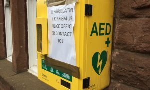 Kirriemuir 24-hour emergency defibrillator damaged in weekend vandalism