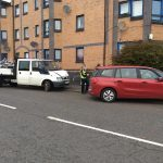 Two vehicles crash on Dundee road