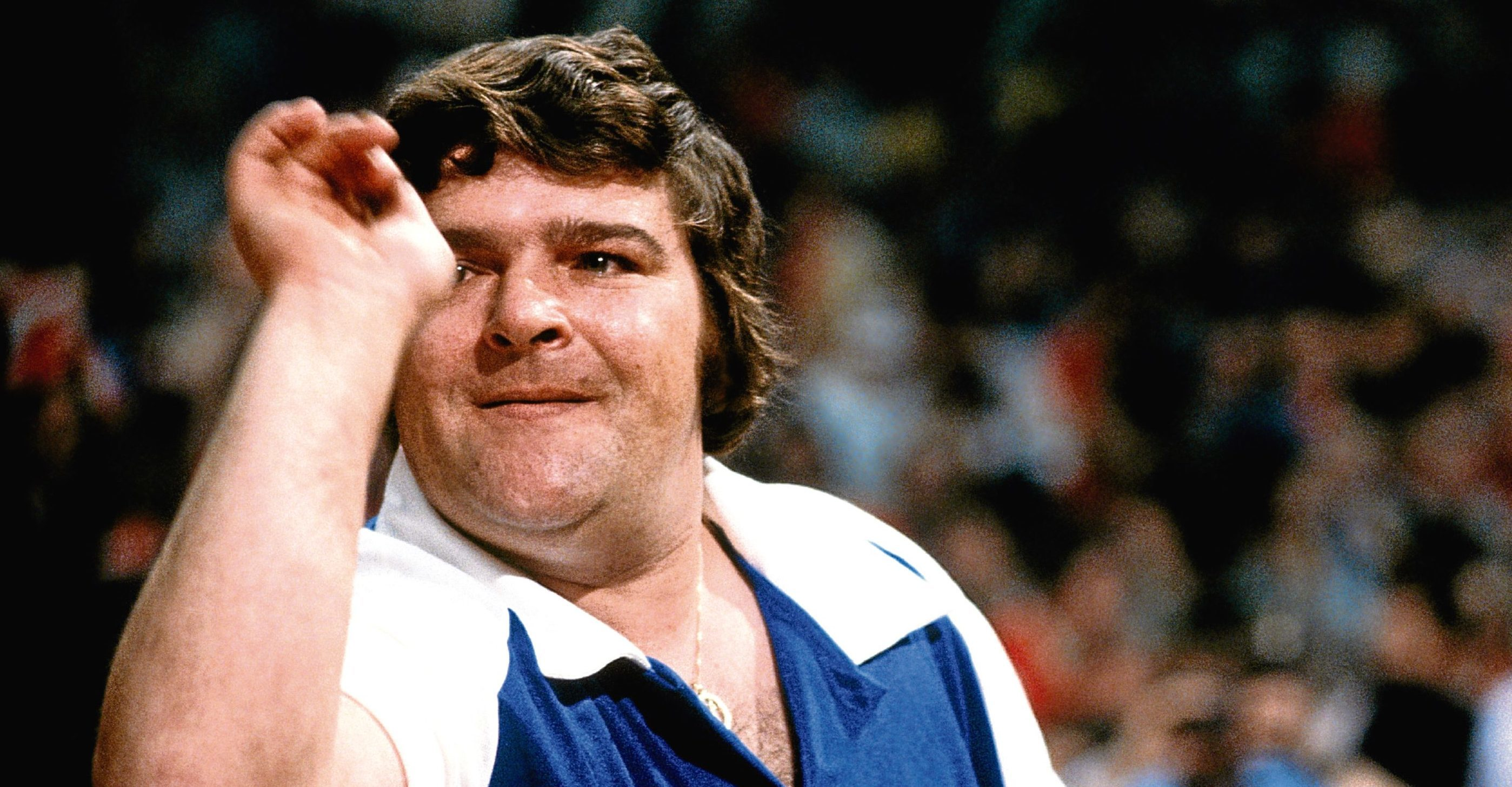 Fife darts hero Jocky Wilson.