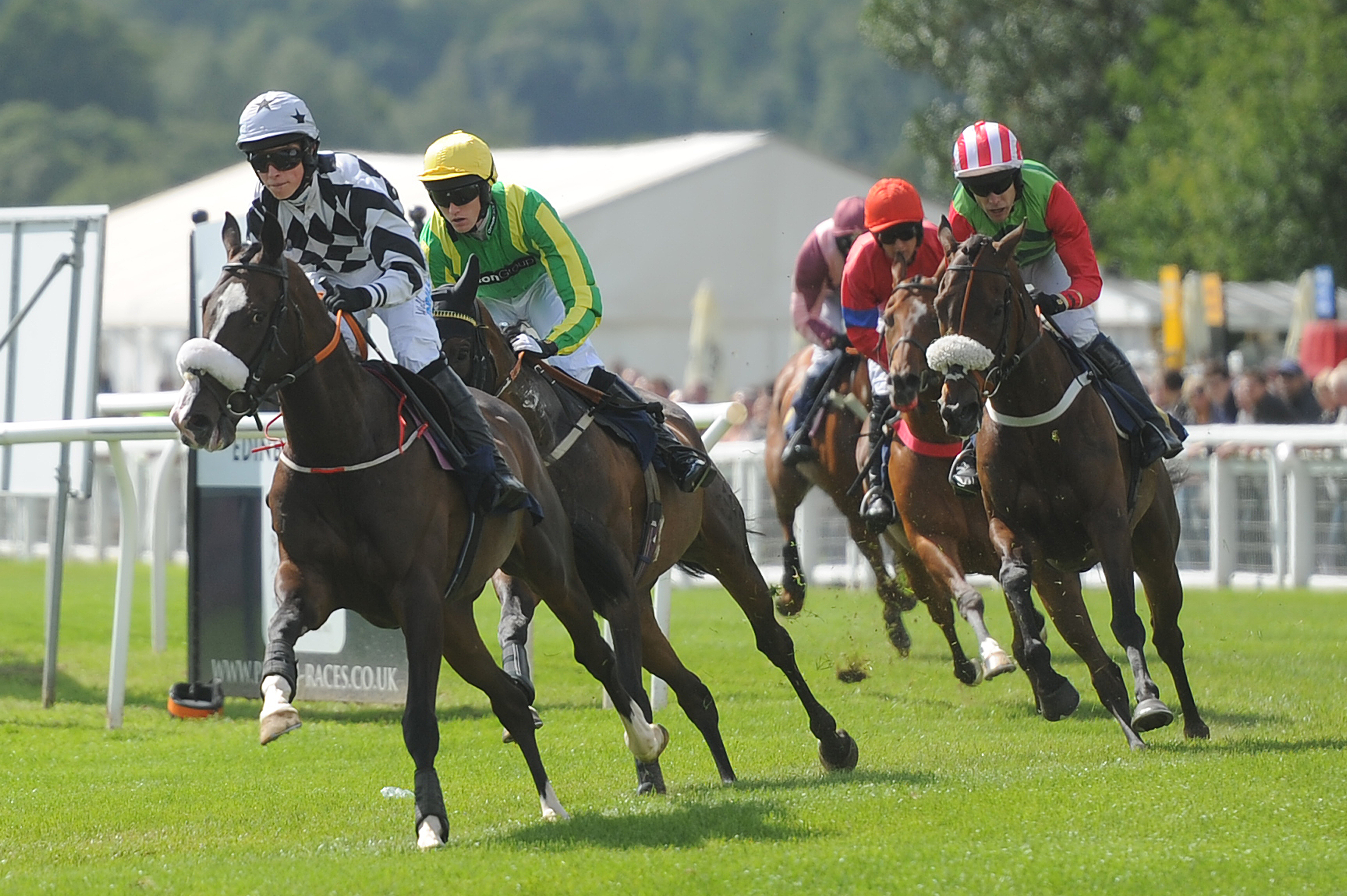 Action from Perth races.