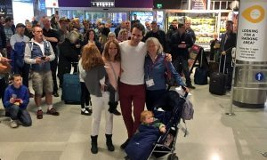 VIDEO: Watch Mark Beaumont arrive back on Scottish soil to hero's welcome