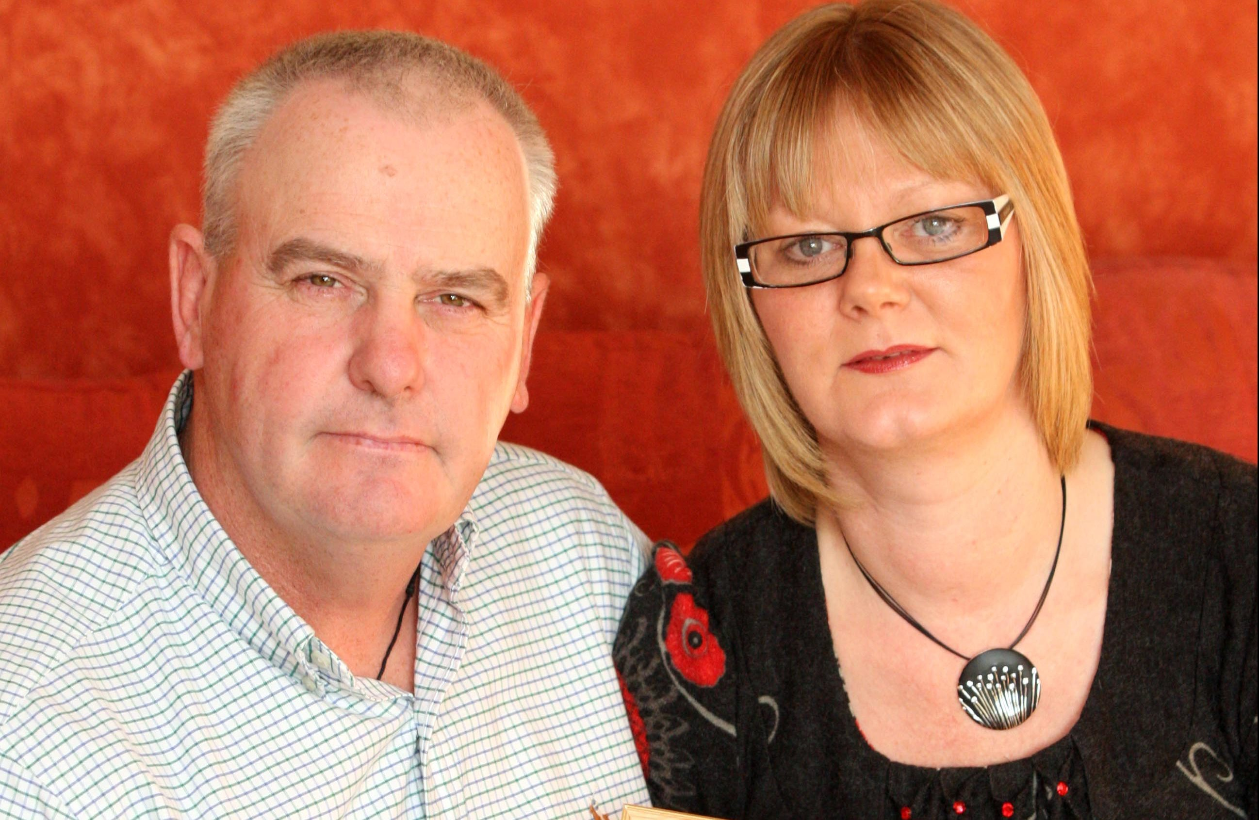 Malcolm Campbell and his wife Jane.