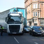 Traffic chaos after lorry breaks down in Perth