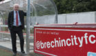 Brechin City chairman Ken Ferguson.