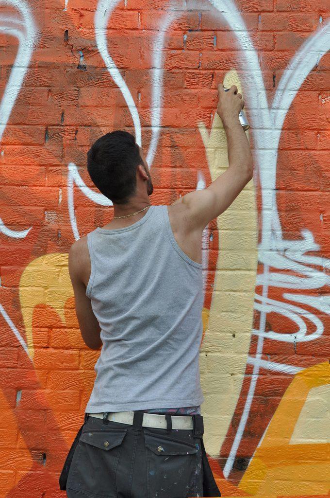 Artist Haes from Sheffield