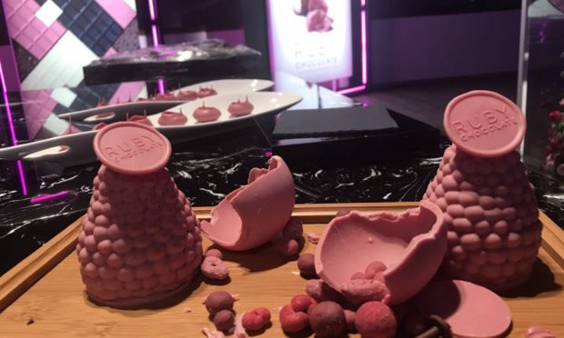 Ruby chocolate is the world's newest indulgence