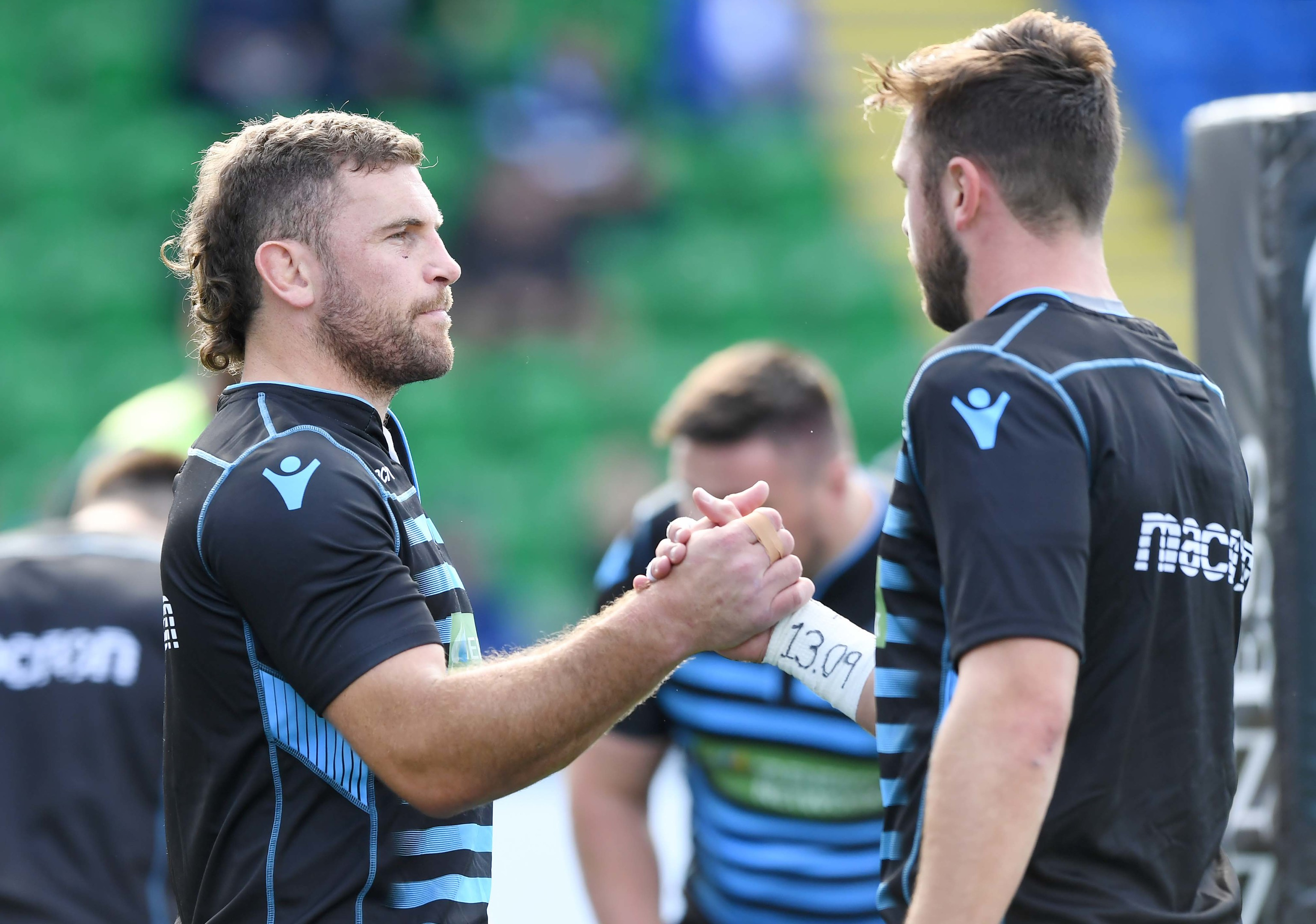 Callum Gibbins and skipper Ryan Wilson were a key force in Saturday's Guinness PRO14 opening home win.