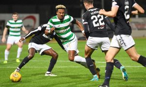 VIDEO: Dundee v Celtic…Was this a dive from Celtic's Scott Sinclair?