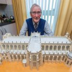 VIDEO: Monifieth man's 40-year mission to build St George's Chapel out of cardboard