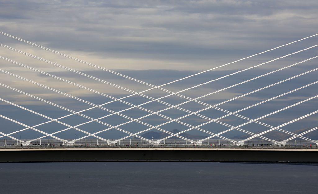 Her Majesty's back to open 'breathtaking' Queensferry bridge