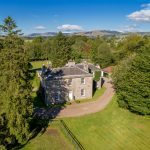 A slice of Georgian grandeur on 14 acres of land near Kinross