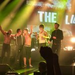 VIDEO: Libertines welcome delighted Fife fan who broke through security on to stage